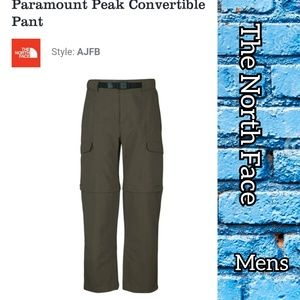 The North Face convertible outdoor pants size LG.